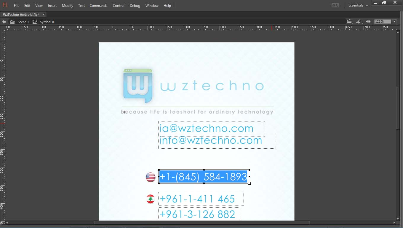 WzTechno Business Mobile App Template